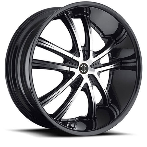 2 Crave No.24 Gloss Black with Machined Face and Gloss Black Lip