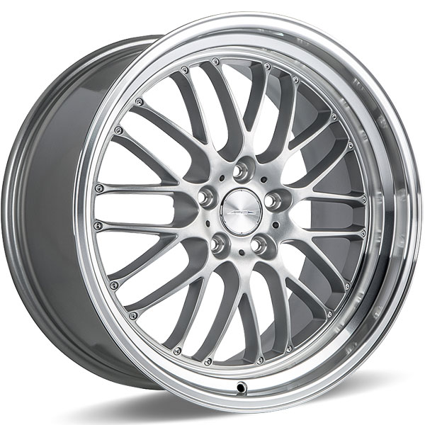 Ace Alloy SL-M D715 Matte Silver with Diamond Lip