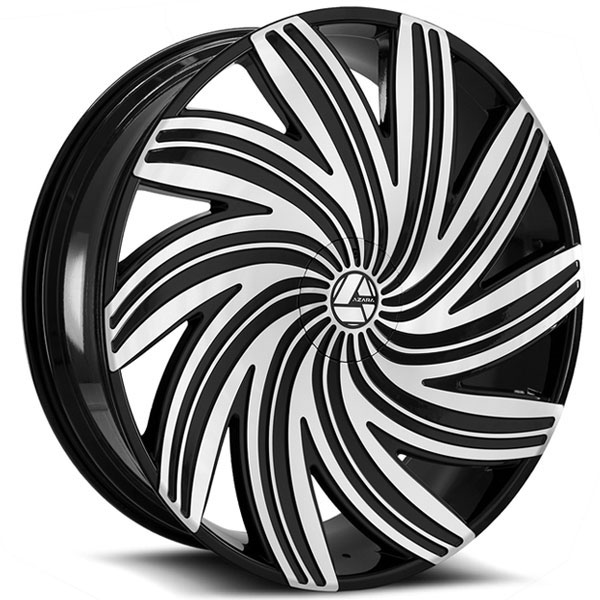 Azara AZA-502 Gloss Black Machined
