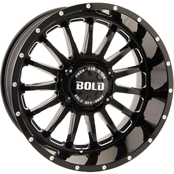 Bold BD002 Gloss Black Milled