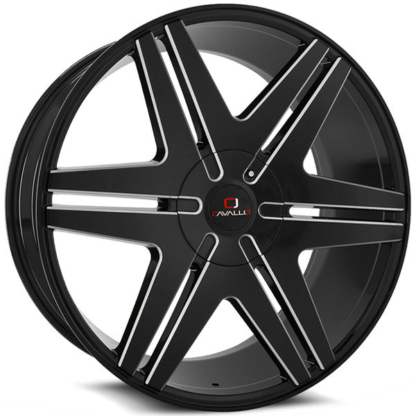 Cavallo CLV-17 Gloss Black Milled