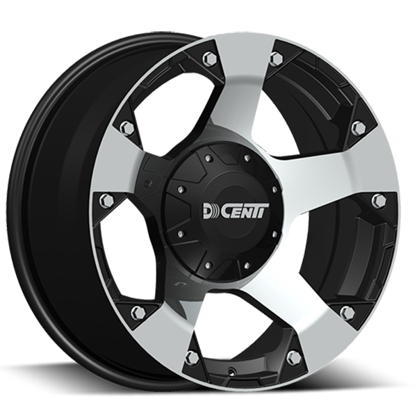 DCenti DW995 Black with Machined Face