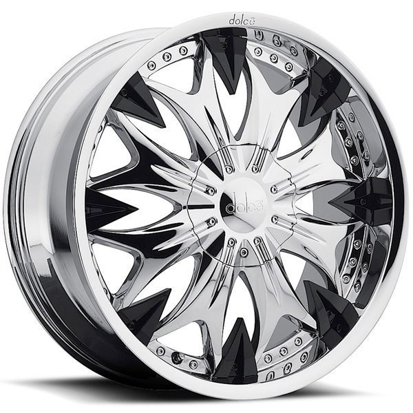 Dolce DC20 Chrome with Black Inserts