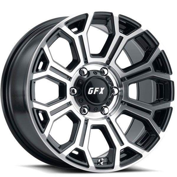 G-FX TR19 Gloss Black with Machined Face