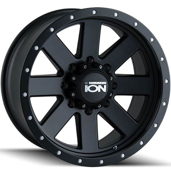 Ion Alloy 134 Matte Black with Black Beadlock