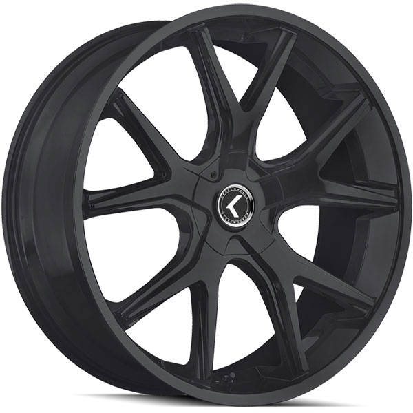 Kraze 146 Splitz Satin Black