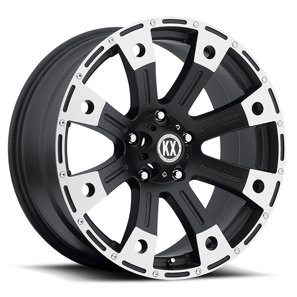 KX CP77 Matte Black Machined