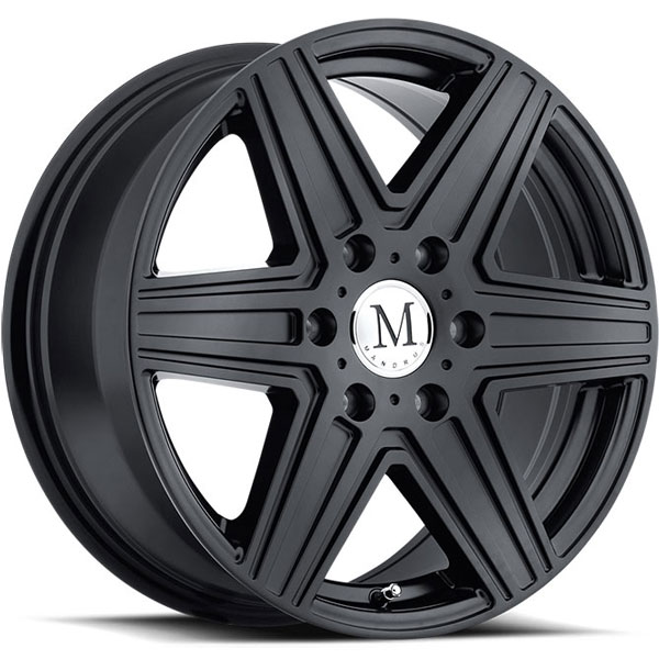 Mandrus Atlas 6 Matte Black