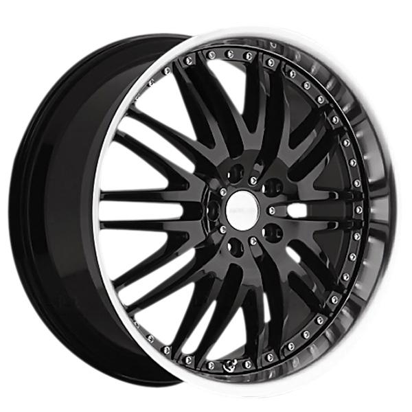 Menzari Z04 M-Sport Gloss Black with Machined Lip