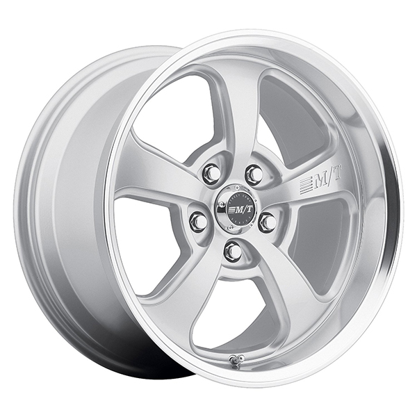 Mickey Thompson SC-5 Hyper Silver with Machined Lip