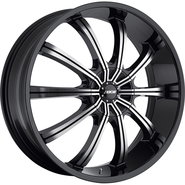 MKW M111 Black with Machined Face