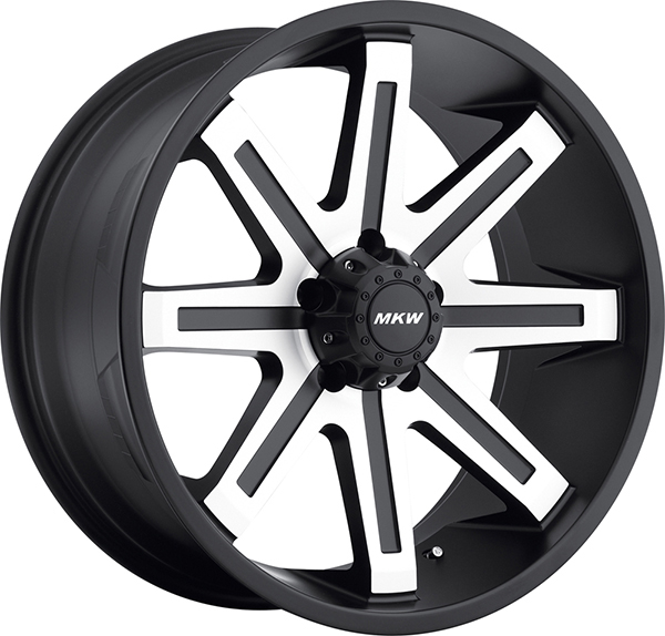 MKW M88 Black with Machined Face
