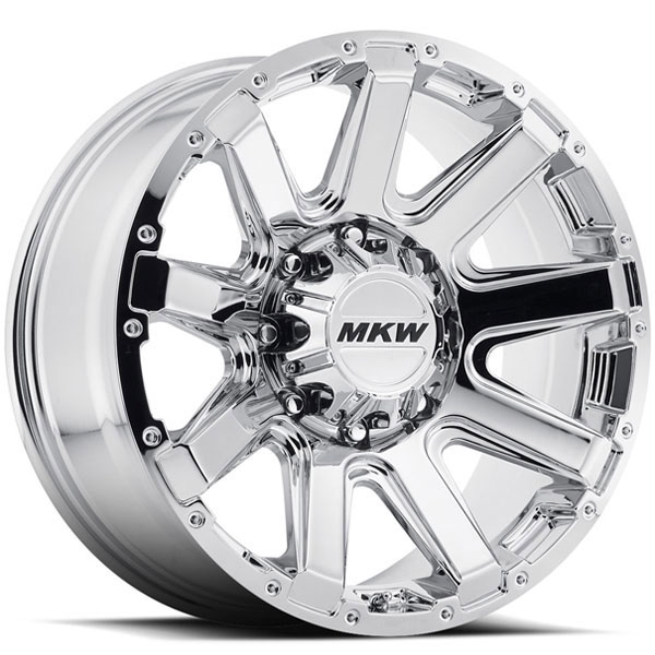 MKW M94 Chrome 8 Lug