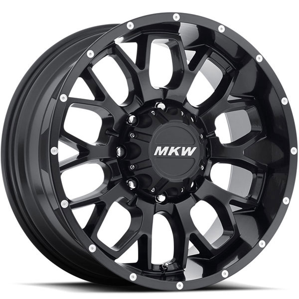 MKW M95 Satin Black 8 Lug