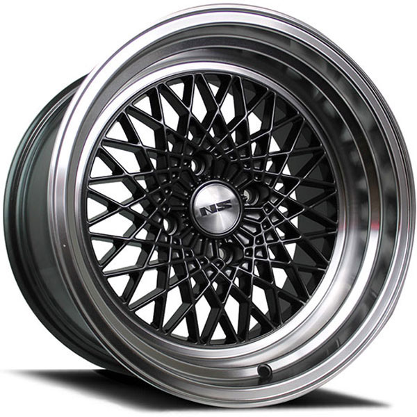 NS Series Drift-MDV2 Gunmetal with Polished Lip