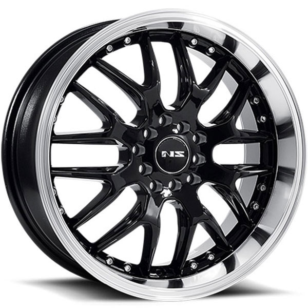 NS Series NS9002 Black with Machined Lip