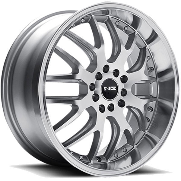 NS Series NS9002 Silver with Machined Face and Lip