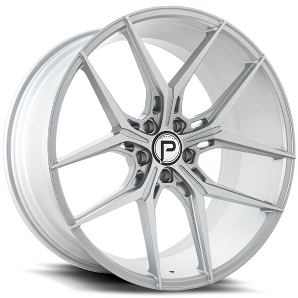 Pinnacle P204 Splendent Silver with Machined Face
