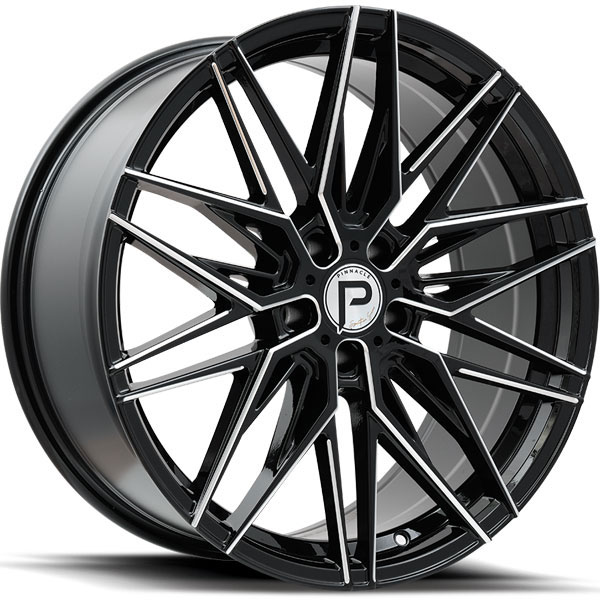Pinnacle P210 Majestic Gloss Black with Milled Spokes