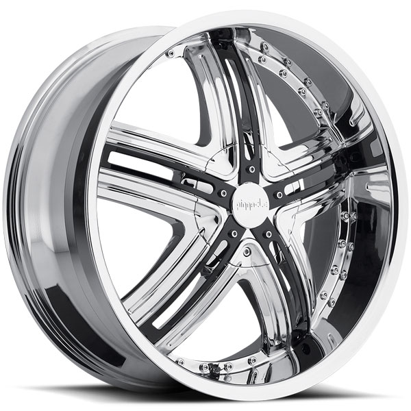 Pinnacle P60 Halo Chrome with Black Inserts