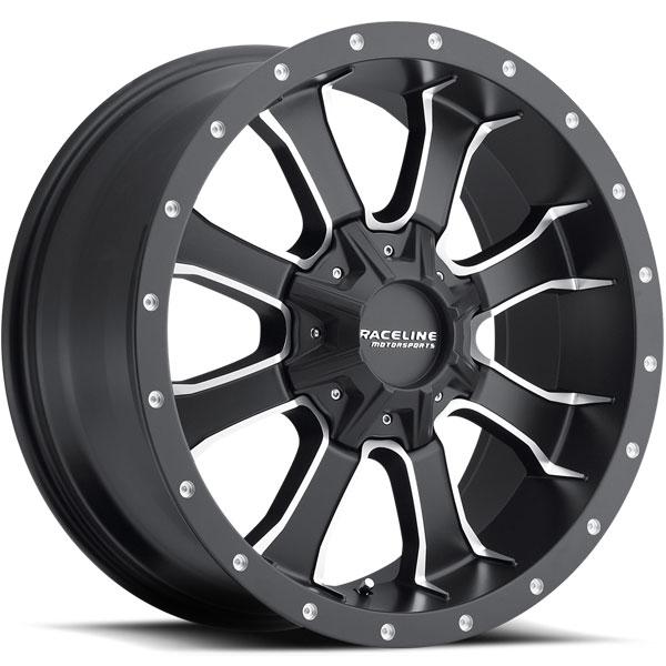 Raceline 927M Mamba HD Black with Machined Spokes