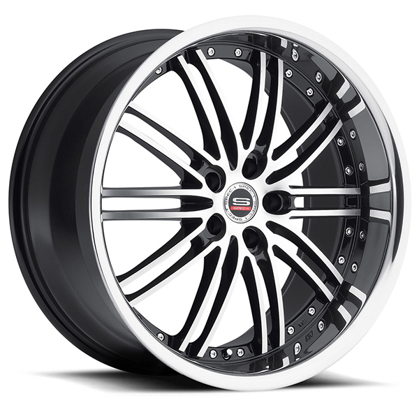 Spec-1 SP-7 Gloss Black with Machined Face