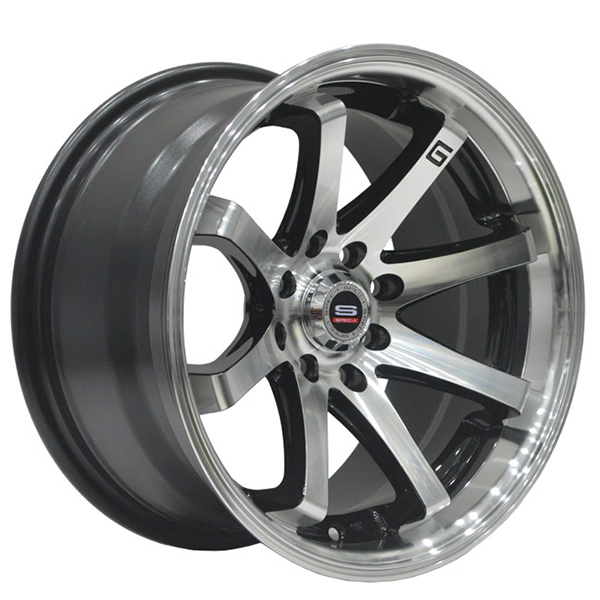 Spec-1 SPT-8 Gloss Black with Machined Face