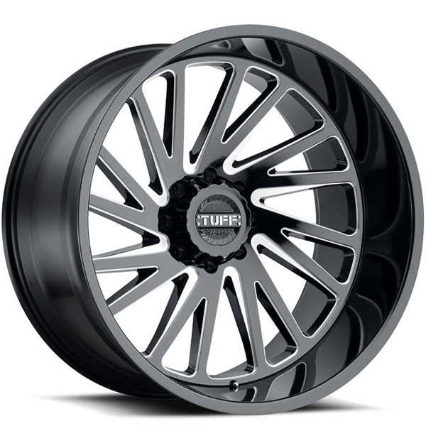 Tuff T2A Gloss Black with Milled Spokes