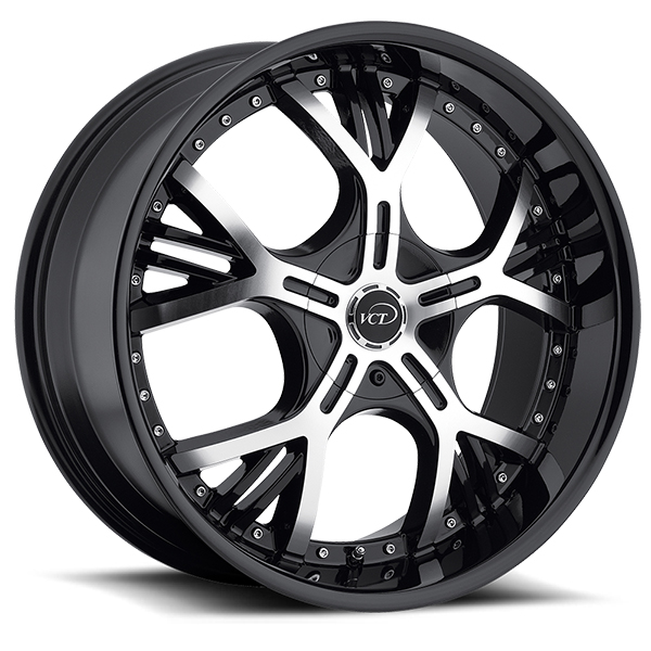 VCT Vezzaro Black with Machined Face