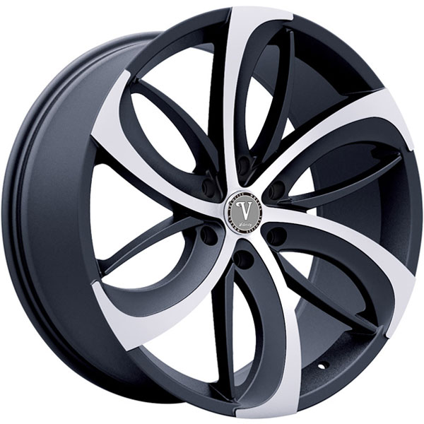 Velocity VW 26B Black with Machined Face