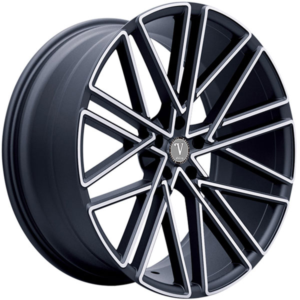 Velocity VW 28 Black with Machined Face