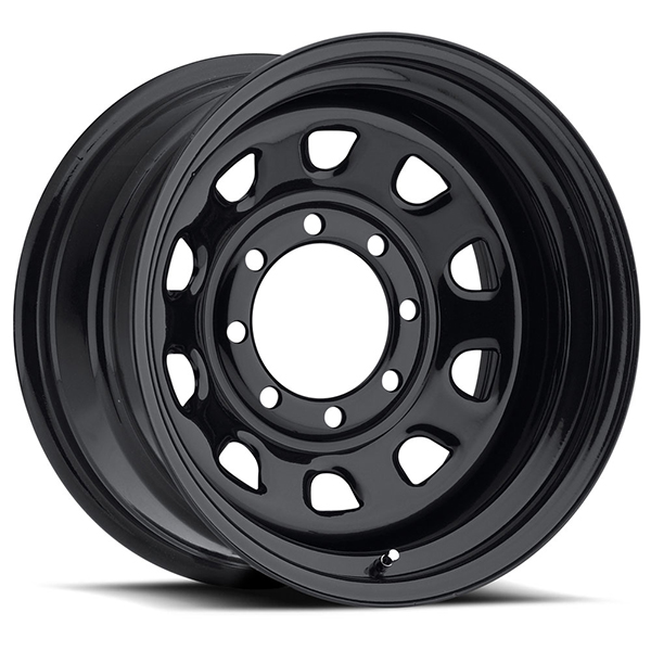 Vision 84 D Window Gloss Black 8 Lug