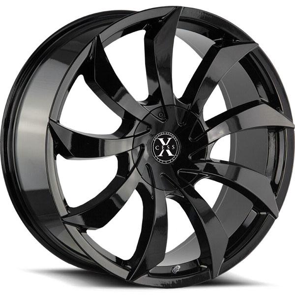 Xcess X01 Gloss Black
