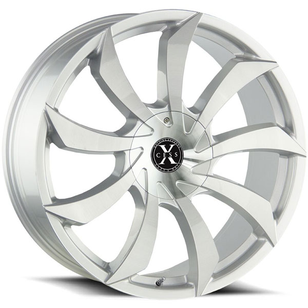 Xcess X01 Silver with Brushed Face